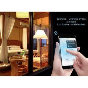 komfortné ovladanie svetiel mobilom