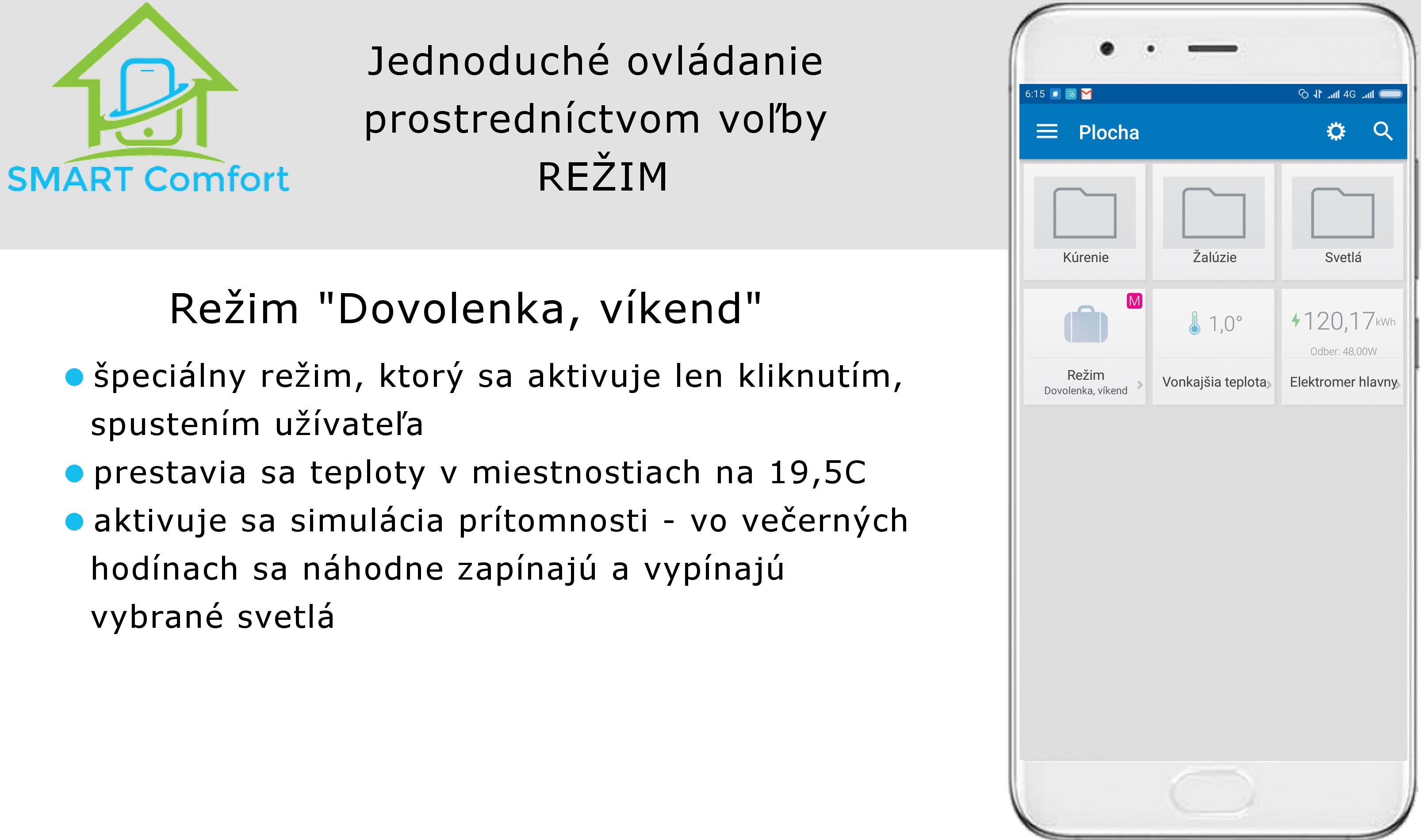 Rezim_dovolenka v02_TapHome_ovládanie z mobilu