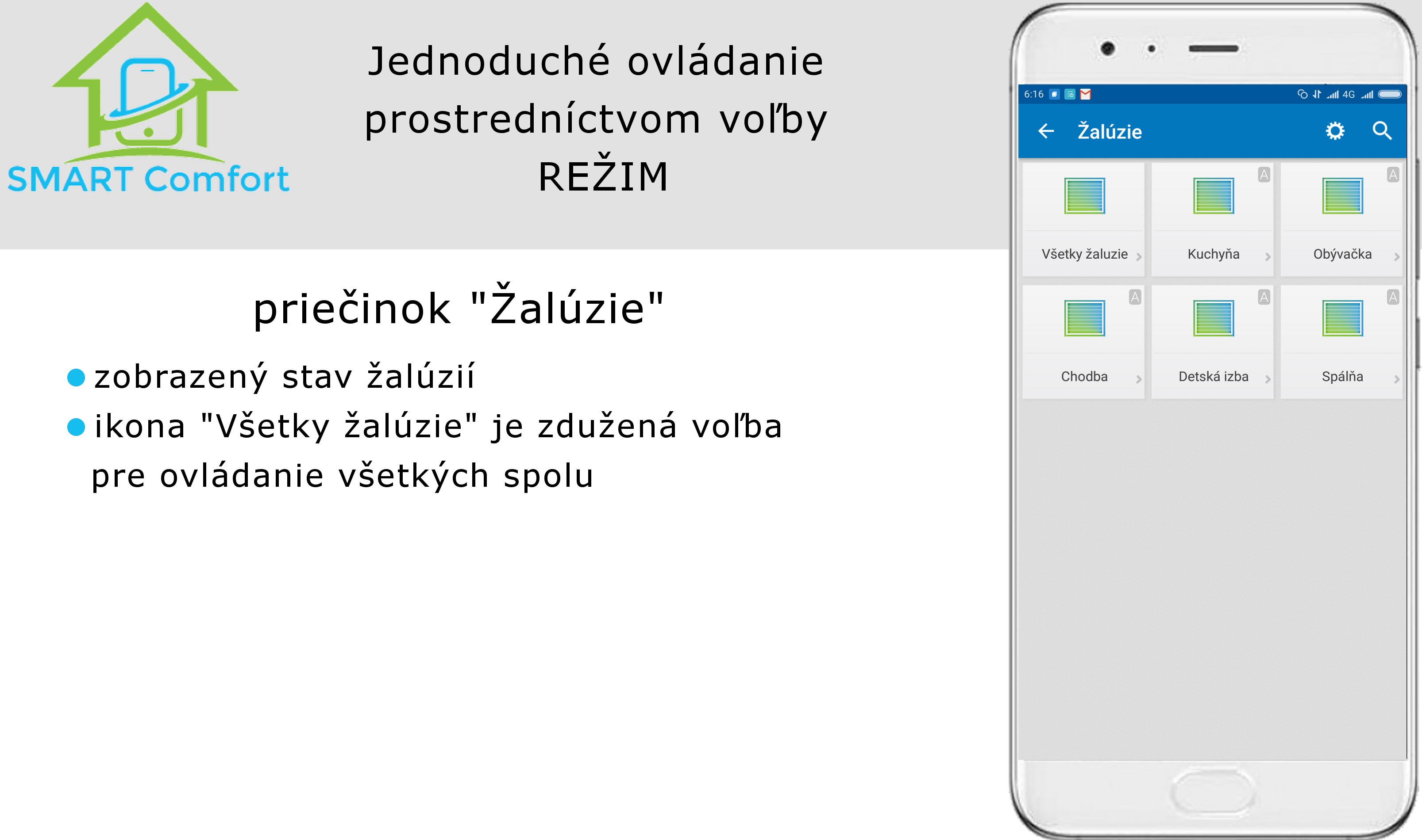 Zaluzie v02_TapHome_ovládanie z mobilu