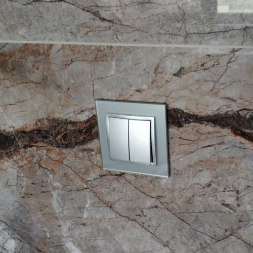 Simon premium54 striebro sklo
